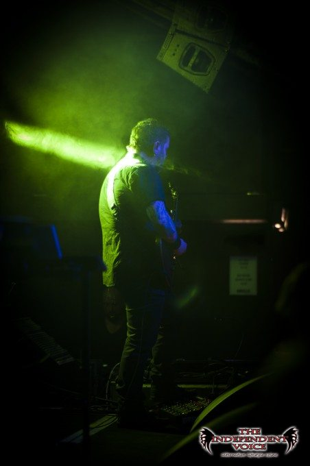 """Dusty riffing away with some very """"Alien""""-esque lighting"""