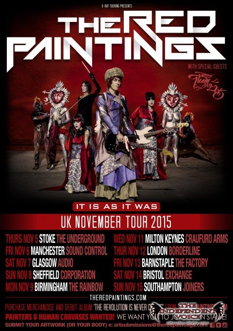 The Red Paintings Tour