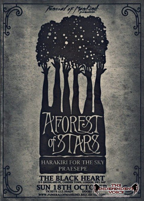 A Forest of Stars Flyer