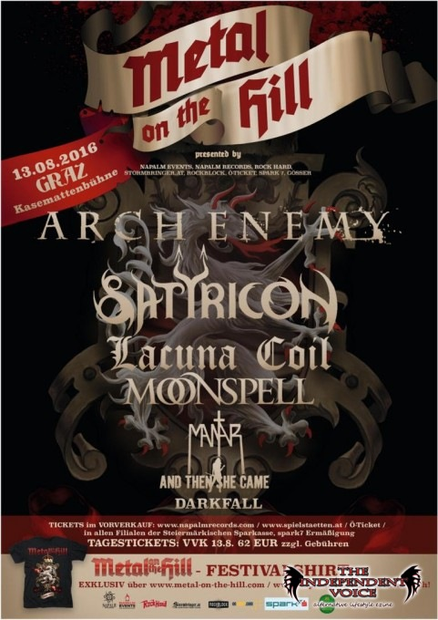 METAL ON THE HILL Festival