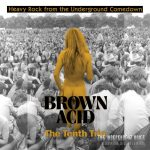 Brown Acid series of rare 60s-70s pre-metal singles shares new track, The Tenth Trip out now!
