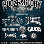 GIUDA announced as special guest at BOOZE & GLORY'S massive 10th Birthday Bash