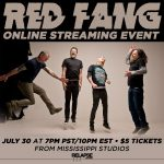 RED FANG ANNOUNCE ONLINE STREAM EVENT JULY 30