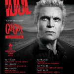 BILLY IDOL is BACK!! 2022 Dates Are Now Announced with Support From Very Special Guests The GO-GO'S! Get Tickets Here!!